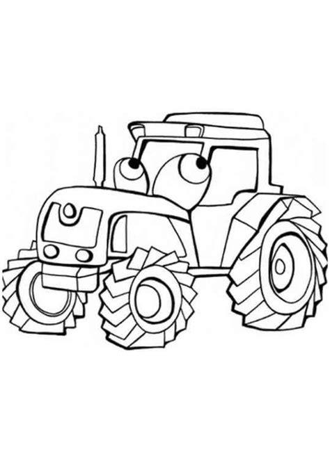 Anhänger für traktor / holzanhänger. Ausmalbilder für Kinder Traktor 10