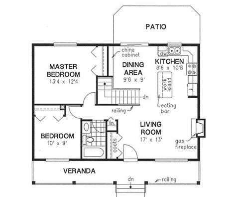 sq ft floor plans country style house plans  square foot home  story