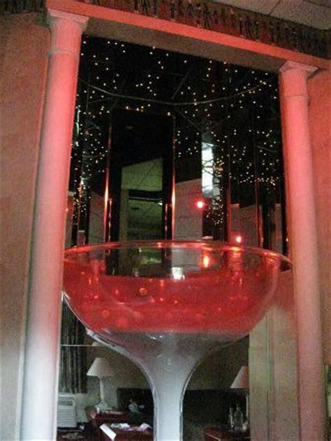 poconos glass tub chagne glass picture of pocono palace resort