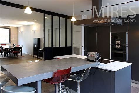 grande cuisine moderne grande cuisine design grande cuisine quipe et ouverte sur le sjour naturelle du sjour la