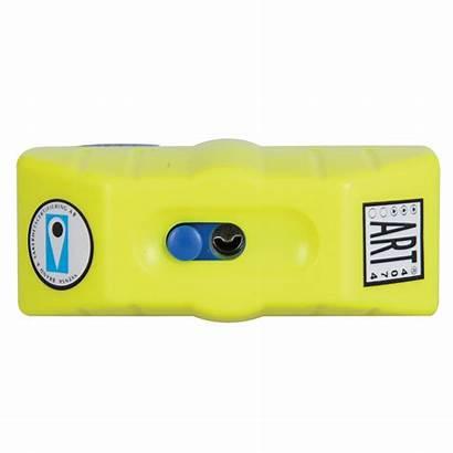 Lock Oxford Disc Alarm Boss 14mm Yellow