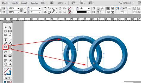 in design tutorial indesign verschlungene ringe zwei ringe ineinander