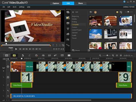 corel studio templates corel videostudio pro x9 pc co uk software