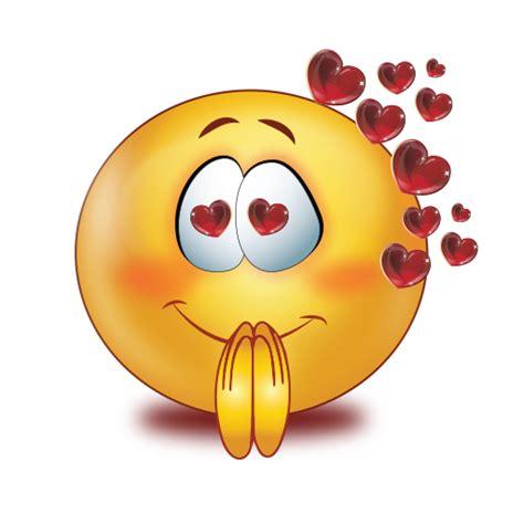 loving eyes  red glossy flying heart emoji