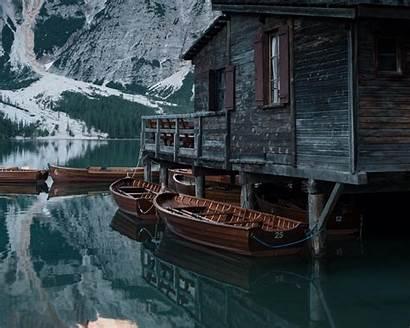 Lake Wallpapers Boathouse