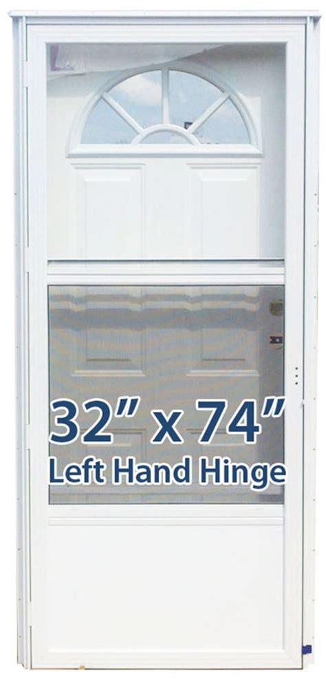 32x74 steel door fan window lh for mobile home