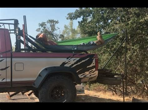 Truck Hammock by Hang A Hammock In Any Truck