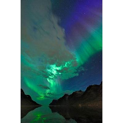 Aurora Borealis over NorwayIncredible!Pinterest