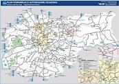 MPK Kraków: zobacz mapę komunikacji dziennej autobusowej ...