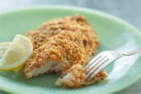 Baked Fish Recipes Tilapia with Bread Crumbs