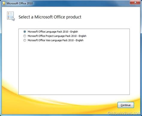 installation bureau how to install microsoft office 2010 language pack