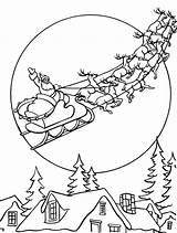 Roof Template Christmas Coloring Pages sketch template
