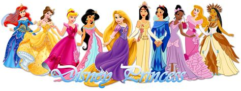 Disney Princess Together Clipart