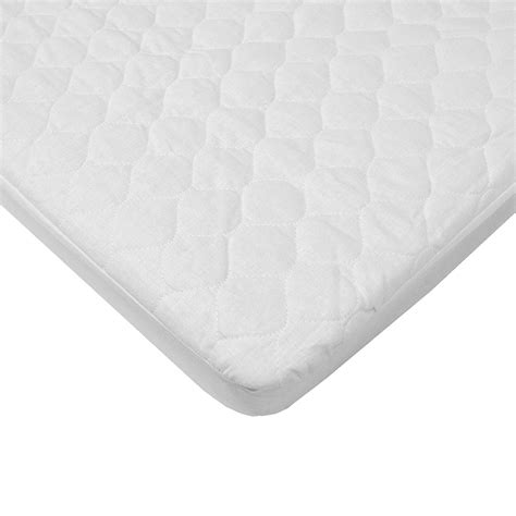 Waterproof Quilted Cotton Fitted Bassinet Mattress Pad