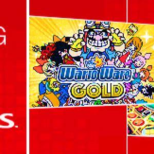 Promo Glenka Gold warioware gold eshop promo wario forums