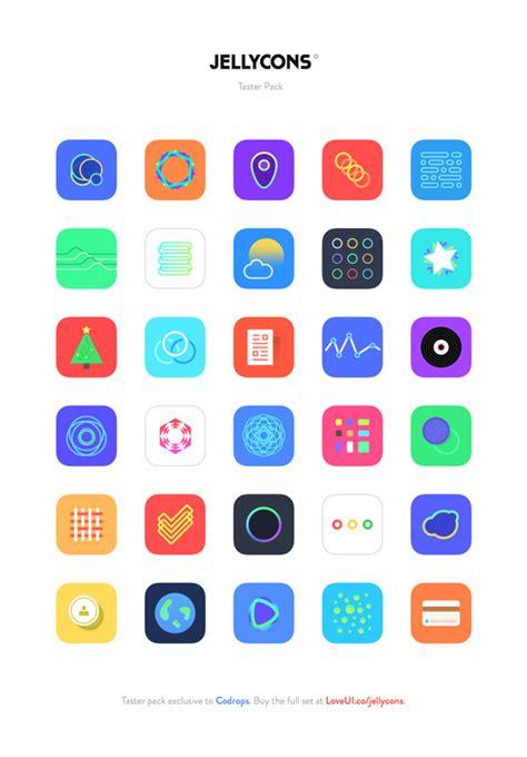 Free Download  Jellycons  Ios 8 App Icons Designbeep