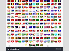 Flags Of All Countries In The World Stock Vector