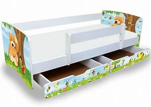 Kinderbett 90x200 Mit Rausfallschutz : panisa ~ Frokenaadalensverden.com Haus und Dekorationen