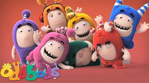 birthday cake oddbods new year family portrait