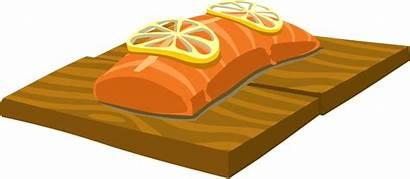 Salmon Clipart Clip Fish Cedar Plank Fillet