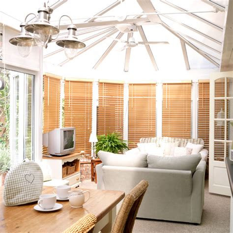 Cream Kitchen Tile Ideas - 10 ways to use a conservatory ideal home