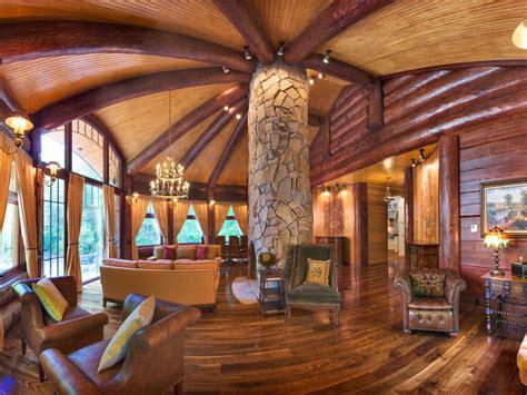 luxury custom log homes luxury log cabin homes interior luxury log mansions treesranchcom