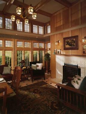 mission living room furniture foter - Arts And Crafts Style Homes Interior Design