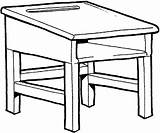 Desk Clipart Drawing Teacher Clip Draw Table Library Cliparts Stool Clipartmag Tool Todd Sweeney Silverado Webstockreview sketch template