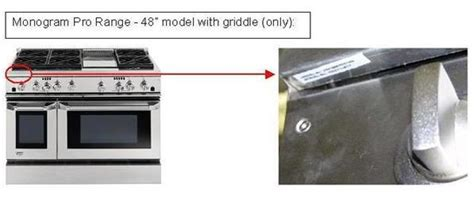 find ge range service manual  model number appliance service manual reference location