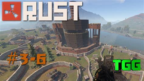 rust clan gameplay raid