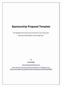 sports sponsorship proposal sample With sports team sponsorship proposal template