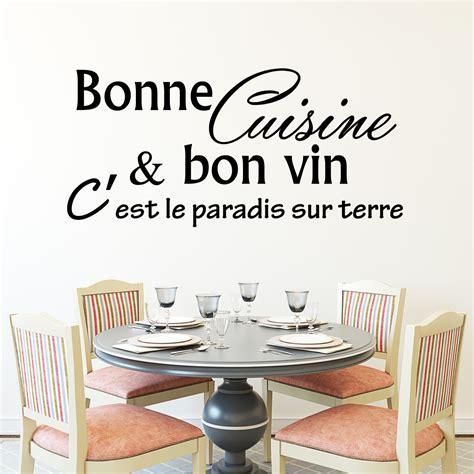 cuisine et citation sticker bonne cuisine et bon vin c 39 est stickers