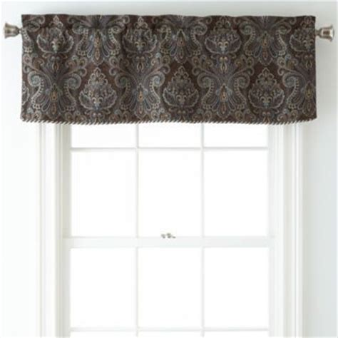 Jcpenney Curtains And Valances by Royal Velvet 174 Manchester Rod Pocket Tailored Valance Found