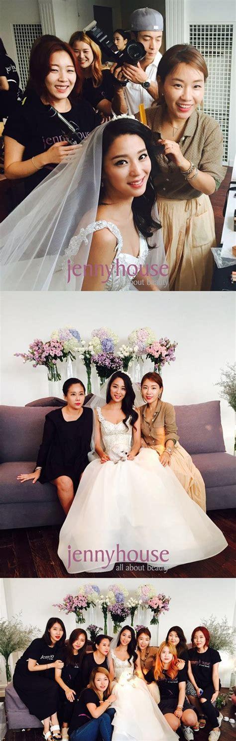 han  eun   wedding dress  hancinema  korean