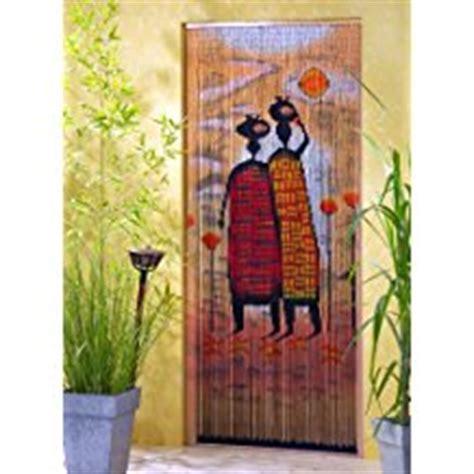 amazon fr rideaux de porte bambou