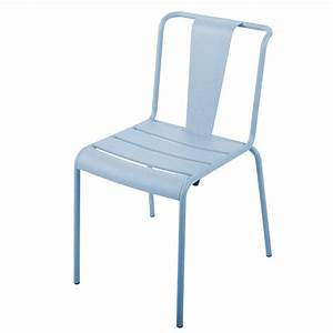 Chaise De Jardin Metal : chaise paname ~ Dailycaller-alerts.com Idées de Décoration