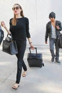 Angelina Jolie Casual Style