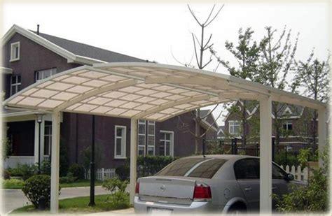 Bernstein Aluminium Carport Pulverbeschichtet 5400 X 2700