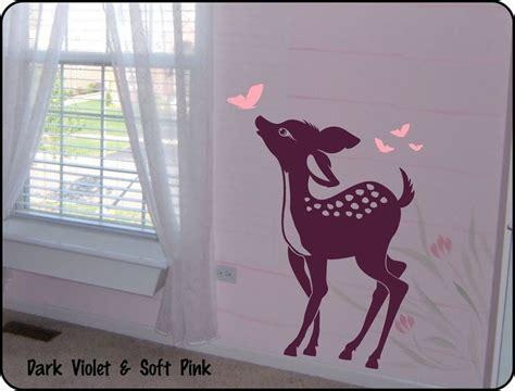 bambi nursery ideas  pinterest disney girl nurseries baby room wall art