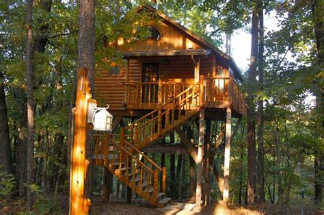 treehouse cottages eureka springs ar bungalow