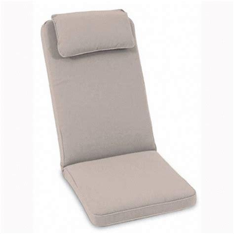 coussin universel 23202l de jardin assise dossier avec t 234 ti 232 re amovible pour fauteuil