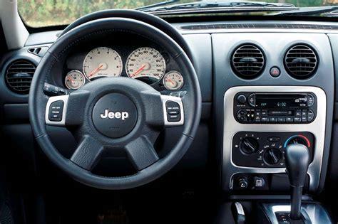 used jeep liberty interior 2002 07 jeep liberty consumer guide auto