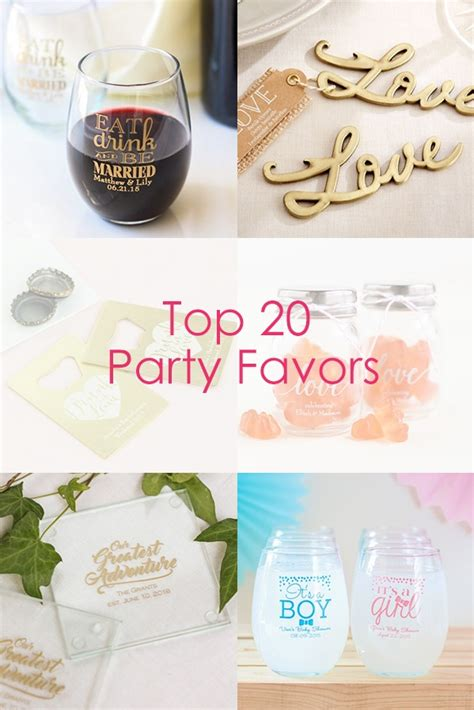 top  party favors beau coup