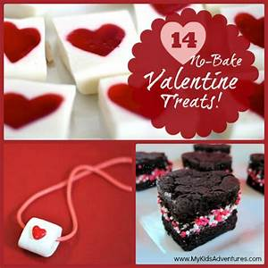 14 Easy No-Bake Valentine Treats to Make With Your Kids ...