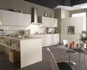 Cuisine blanche 20 idees deco pour s39inspirer deco cool for Idee deco cuisine avec cuisine blanc laqué