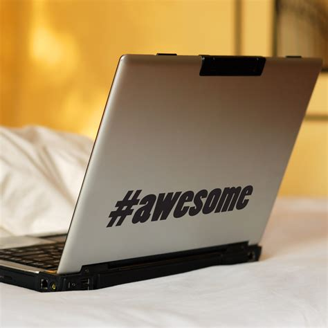 Hashtag Awesome - Word Wall Decals Stickers