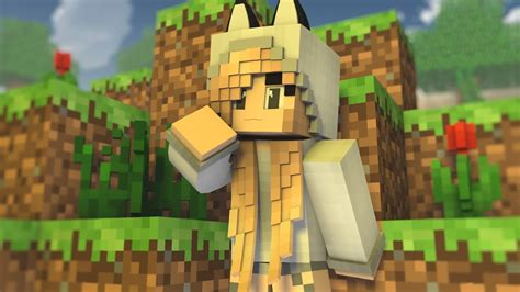 Minecraft Speed Render #9 Wolfy Girl