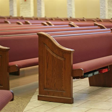 Straight Pews & Benches For Churches, Synagogues