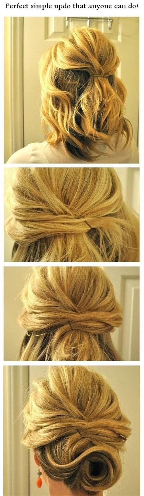 easy step  step updo hairstyles tutorials pretty