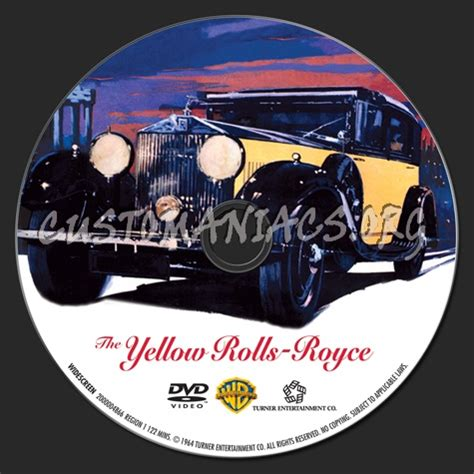 yellow rolls royce movie the yellow rolls royce dvd label dvd covers labels by